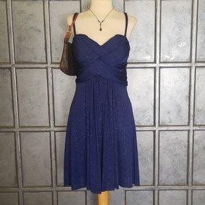B. Darlin Sparkly Navy Blue Dress 👗